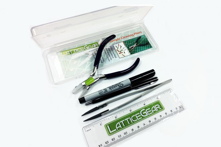 Scribing and Cleaving Kit for Small Samples