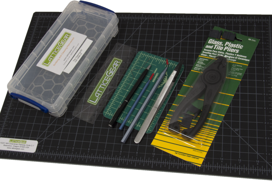 Cleaving Kit-with large mat