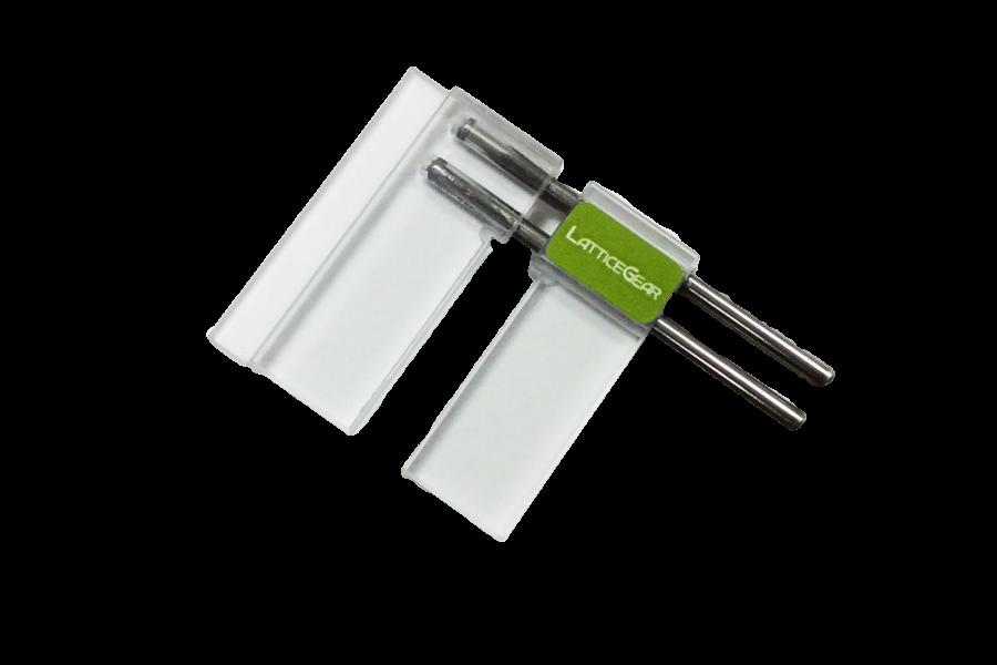 FlipScribe holder for small samples
